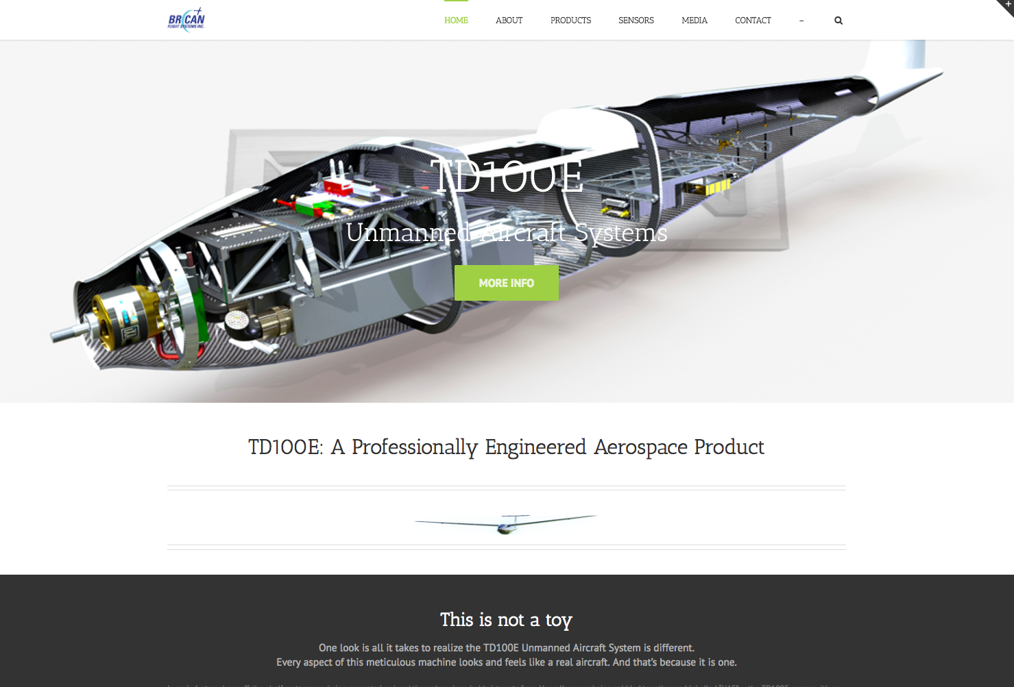 Brican Flight Systems Website